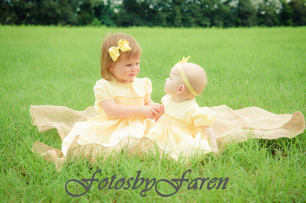 Lila & Ruby at the Farm August 2016