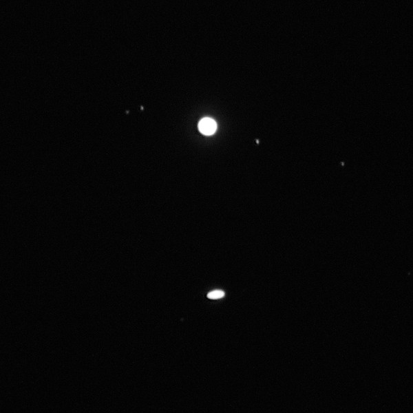 The Great Jupiter-Saturn Conjunction of 2020 - 21/12/2020 (Processed image)