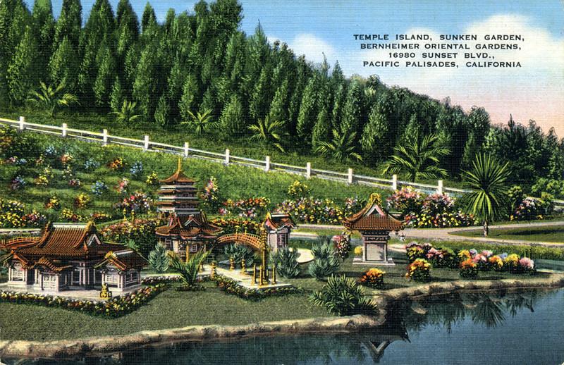 Temple Island, Sunken Garden
