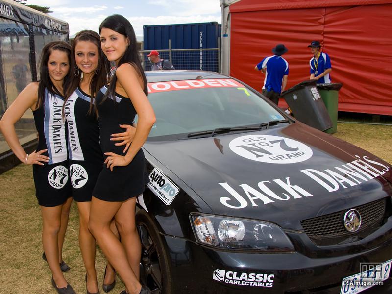 The Jack Daniel's girls