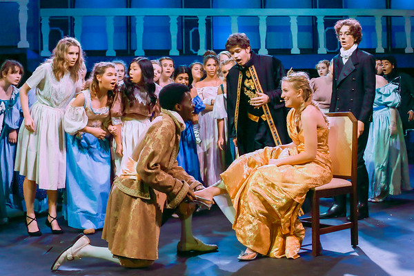 Wp Theatre Cinderella - Sophia and Ephraim Cast