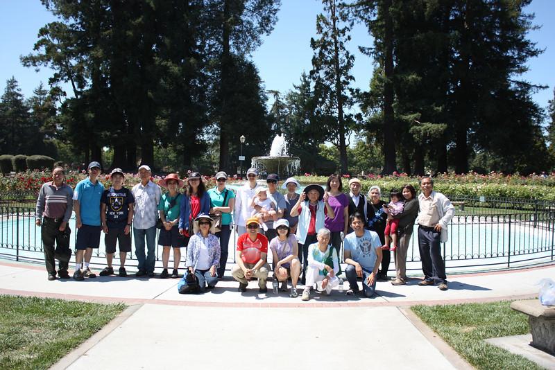 San Jose Rose Garden 2012/08/11