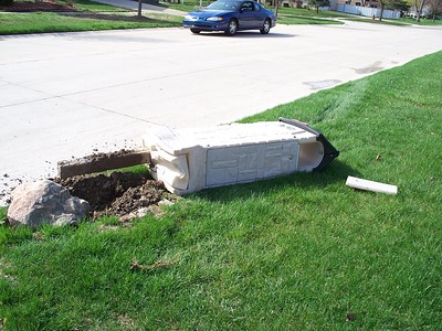 Mailbox Hit and Run