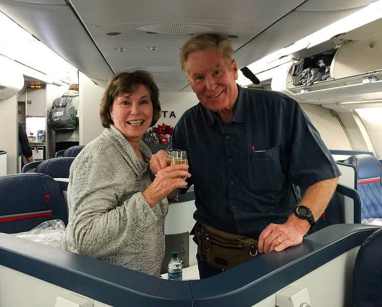 Toasting to our luxury travel tips for finding business class air.