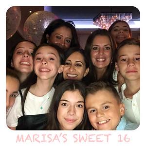 Marisa's Sweet 16