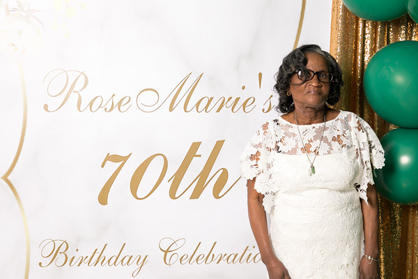 Rose Marie 70th Birthday Celebration