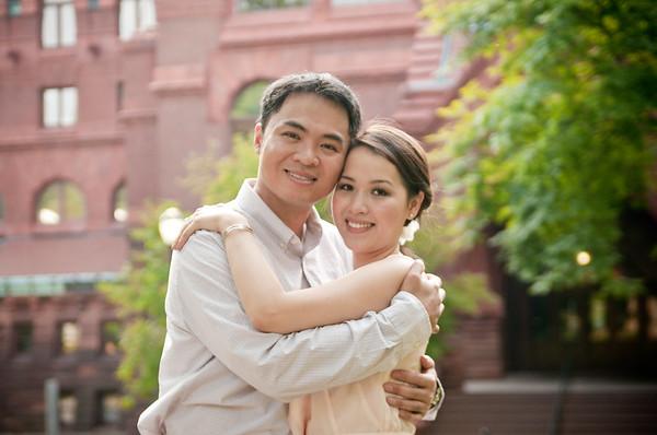 Quyen and Dan-Engagement