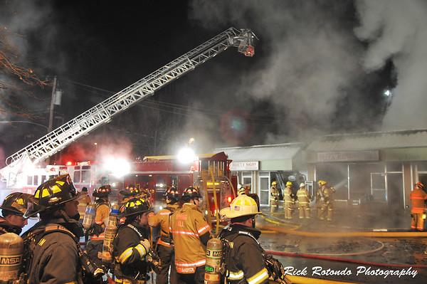 Flourtown Pizza Structure Fire - 1-4-14