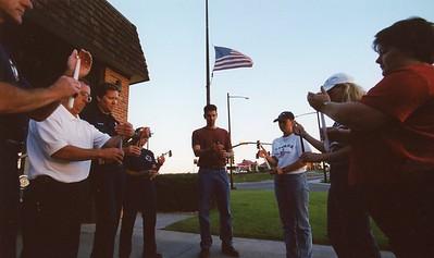September 2001 Candlelight Vigil