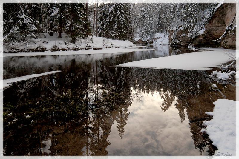 Väike-Taevaskoda talvel