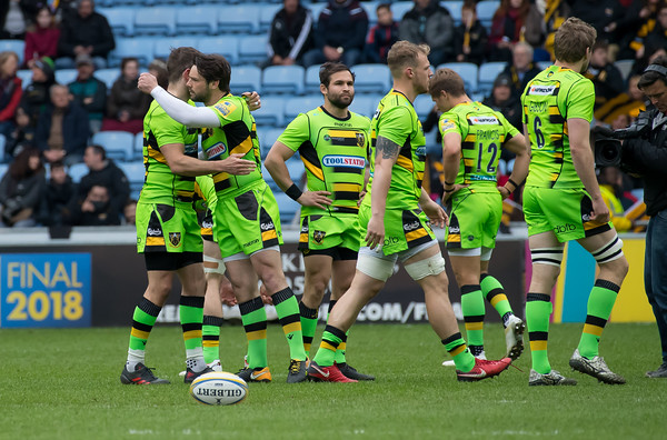 Wasps vs Northampton Saints, Aviva Premiership, Ricoh Stadium, 29 April 2018