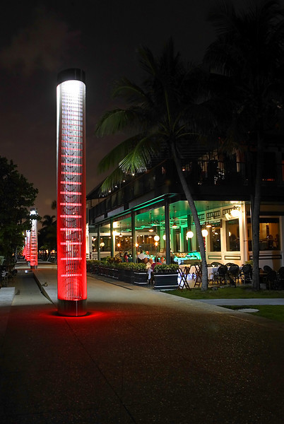 Smith & Wollensky Miami-Outdoor Bar and Terrace Seating