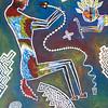 Rattlesnake acrylic painting
