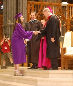 St Raphael Academy Graduation 2015