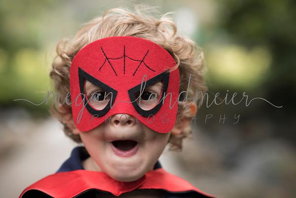 S Family: Superhero at Bluemont