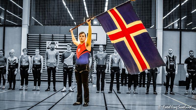 Glíma Competition (named Bikarglíma Íslands) 2017