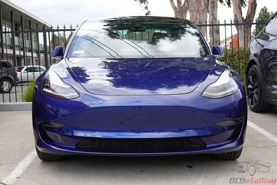 Tesla Model 3 - Deep Blue Metallic 6