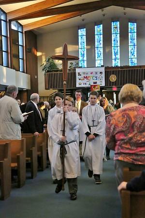 Bishop's Visit to Lourdes