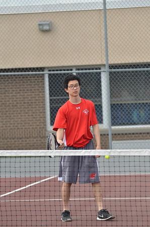 Boys Tennis vs AB 4-27-17