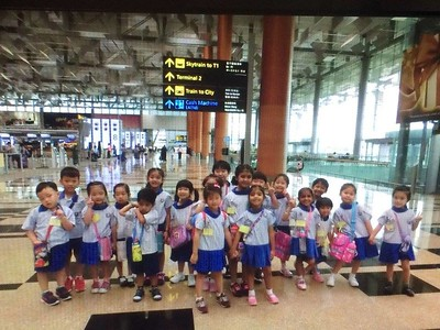 K1 field tip to Changi Airport