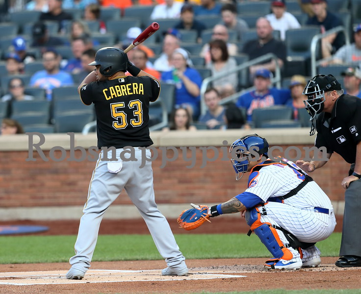 7-27-2019 Pittsburgh Pirates @ New York Mets