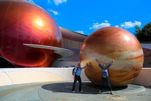 Epcot Park, Disney, Orlando - March, 2014