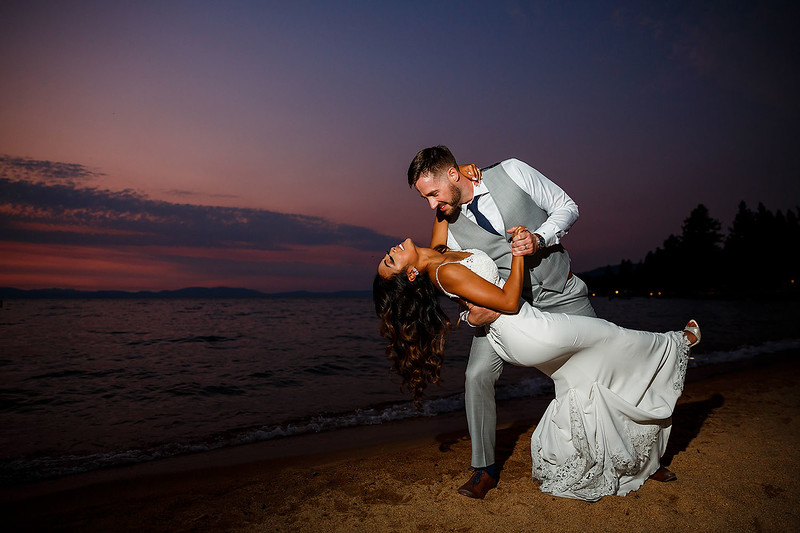 JENNA & JARROD WEDDING, LAKE TAHOE CA