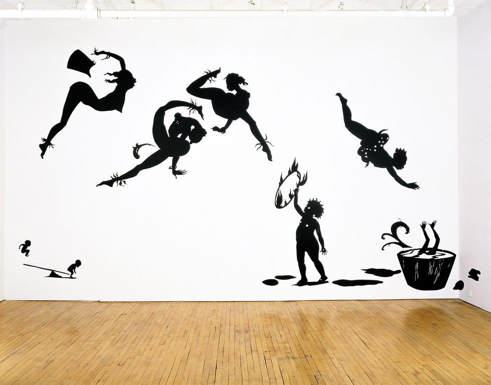 """Kara Walker, """"Danse de la Nubienne Nouveau,"""" (1998)"""