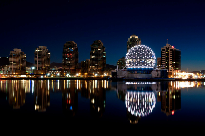 Mirror Reflection of Science World