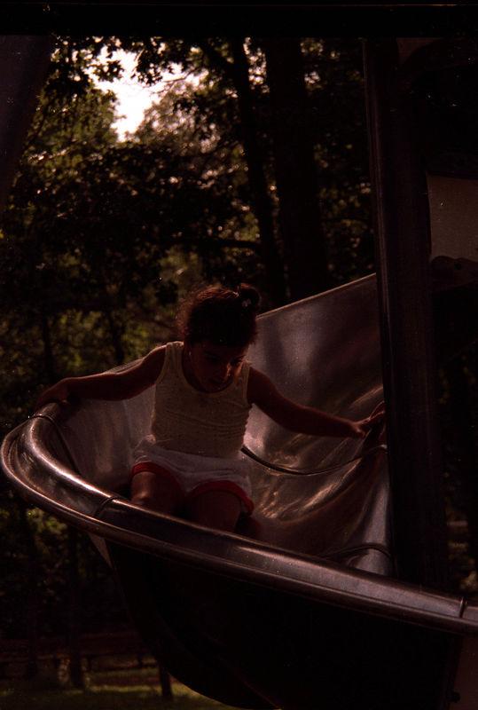 1989 04 23 - Park with Allison