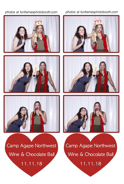 Camp Agape Wine & Chocolate Ball 2018