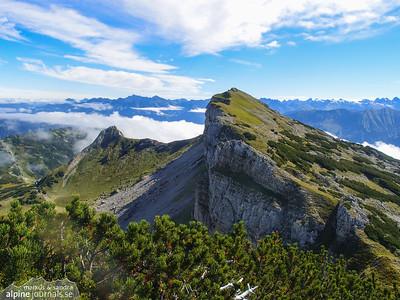 Obere Gottesackerwände hiking, Kleinwalsertal