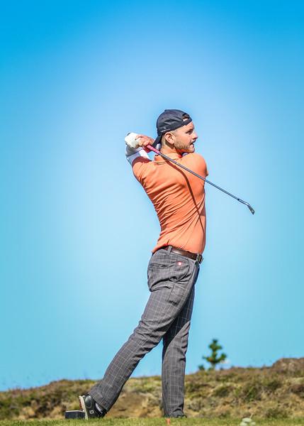 GOT, Björn Öder Ólason Íslandsmót í golfi 2019 - Grafarholt 2. keppnisdagur Mynd: seth@golf.is