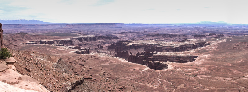 Monument Basin in Island in the sky