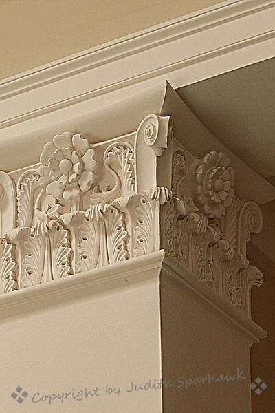 Corner Column Detail ~