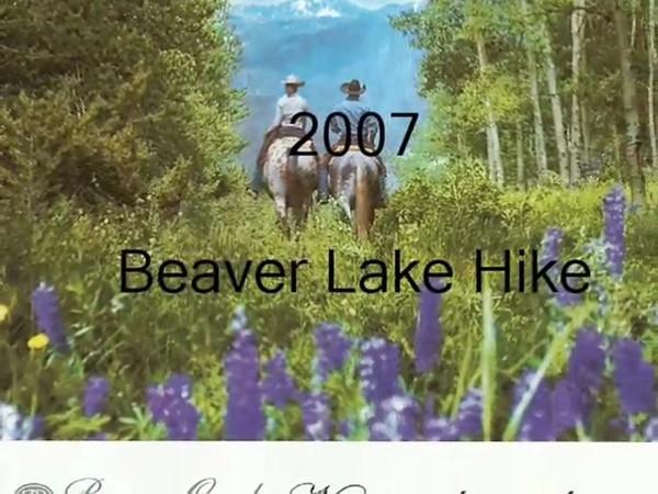 Beaver Lake Hike 2007 Video
