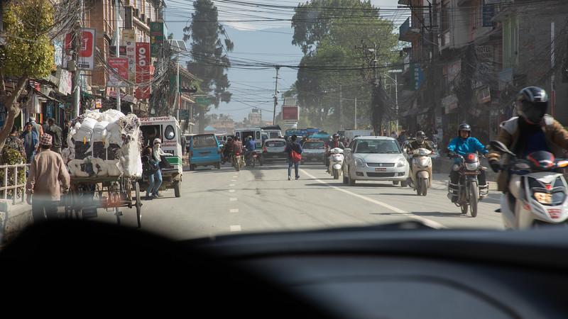 Street Scene - Kathmandu