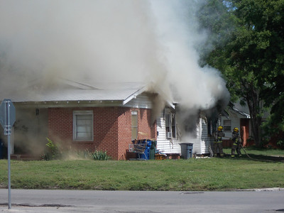 Chickasha house catches fire on 8th and Minnesota