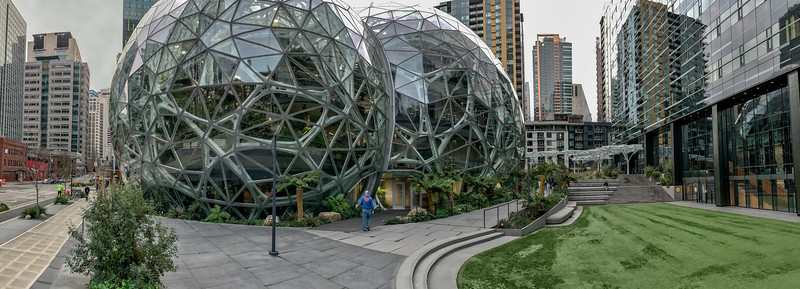 Inside Amazon's Spheres Jan 2019