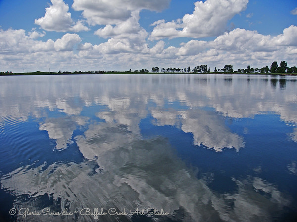 Wide Open Clouds and Water
