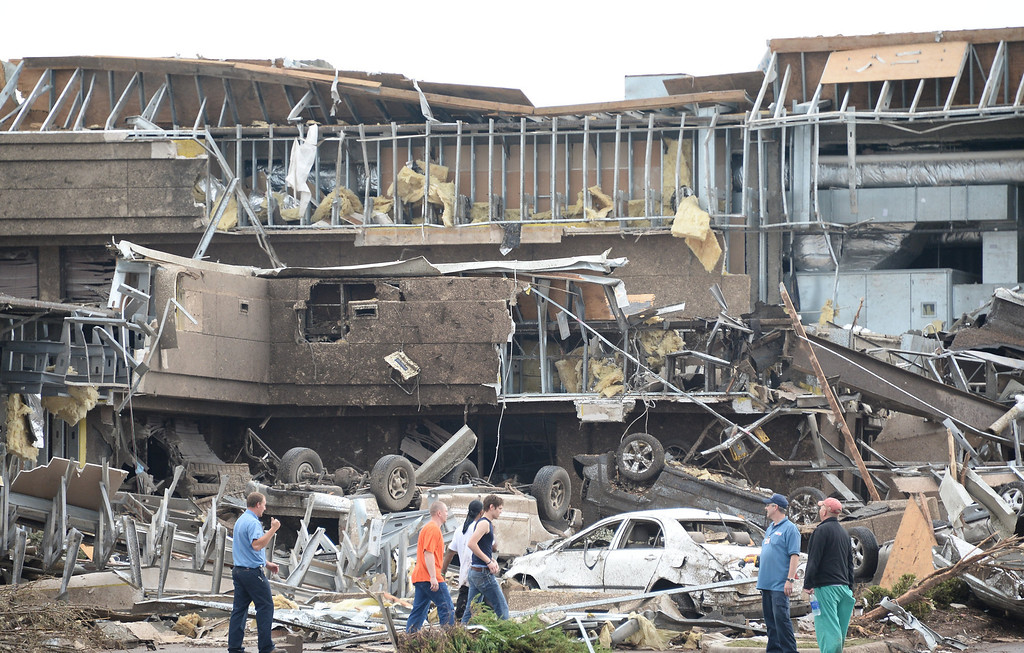 . A tornado devastated the Oklahoma City suburb of Moore on Monday, ripping up at least two elementary schools and a hospital and leaving a wake of tangled wreckage and death. 