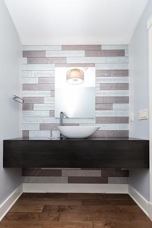 Powder Room La Jolla - Interior Design Photography for Alicia Calhoon