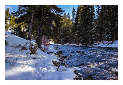 Sunny Day on the Gallatin River Montana