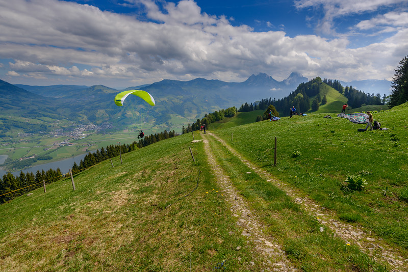 Paragliding school III