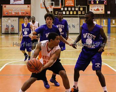 Boys Basketball JV Scrimmage West Potomac 11/17/12