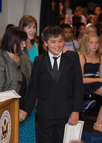 Ethan's 6th Grade Graduation - 2012