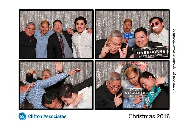 Clifton Associates Christmas Party 2016