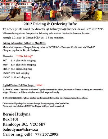 Pricing 2012