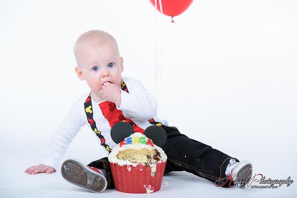 Keegan 1st Birthday