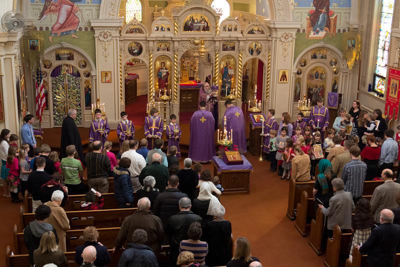 Orthodoxy Sunday Liturgy 2012